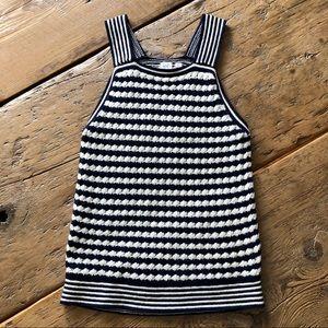 GAP Crochet Striped Tank Top